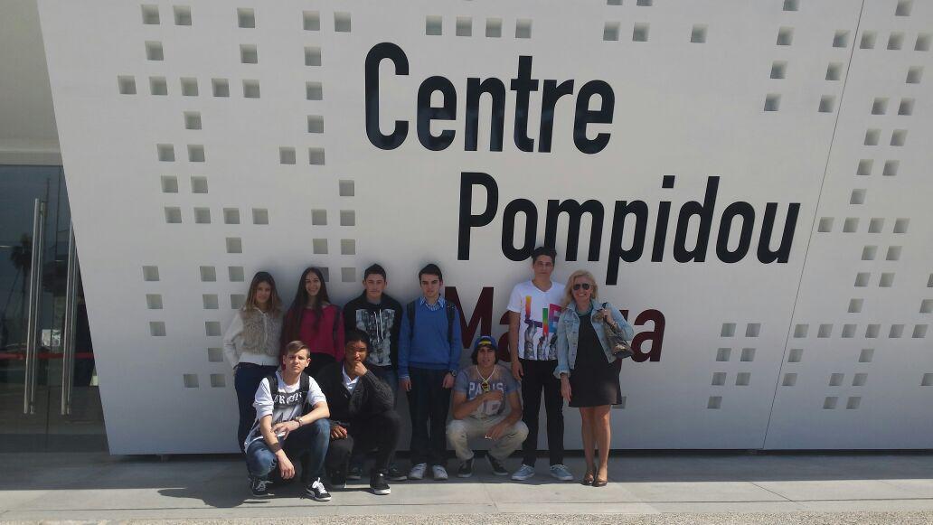 Visita al museo pompidou Málaga