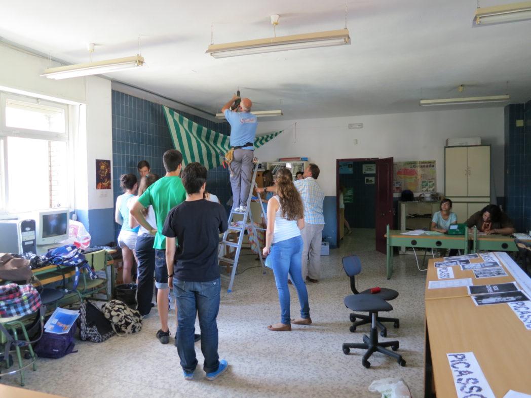 preparando-stand-de-proyecto-de-cultura-alimentaria_9075856764_o