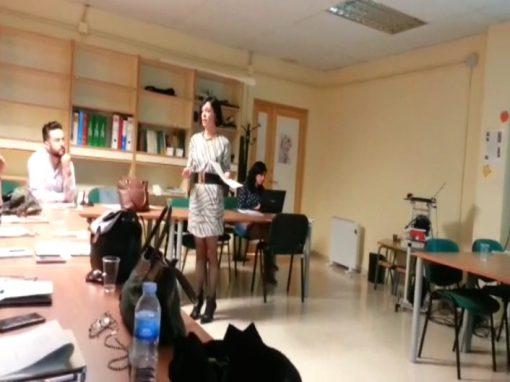 Presentación del Proyecto KA 202 en el CEP de Marbella
