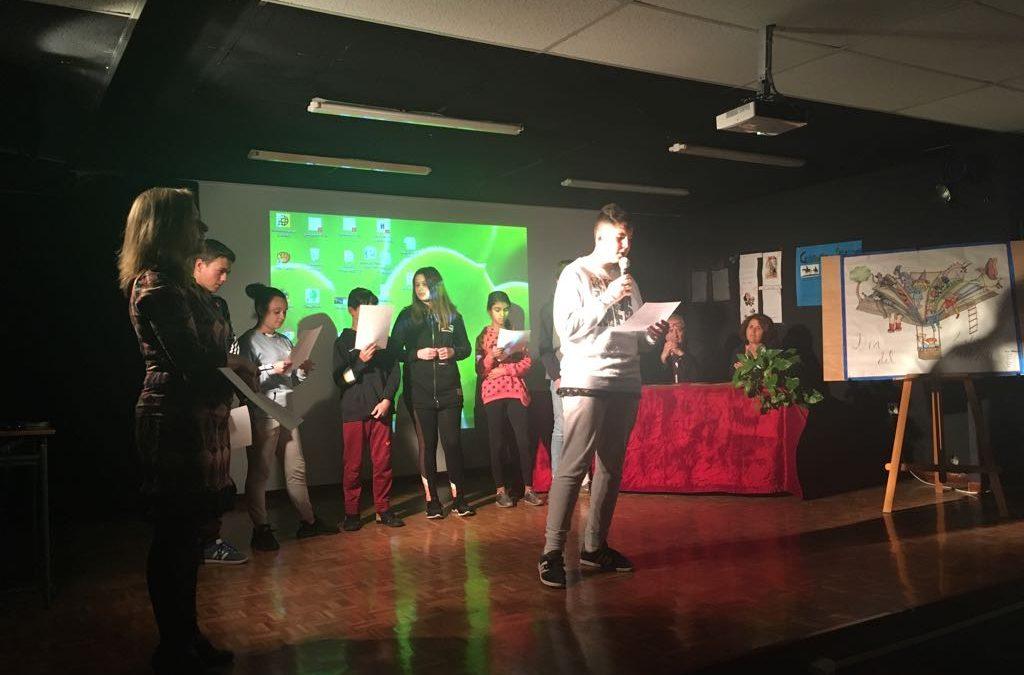 ENTREGA DE LOS PREMIOS DEL CONCURSO LITERARIO 2018