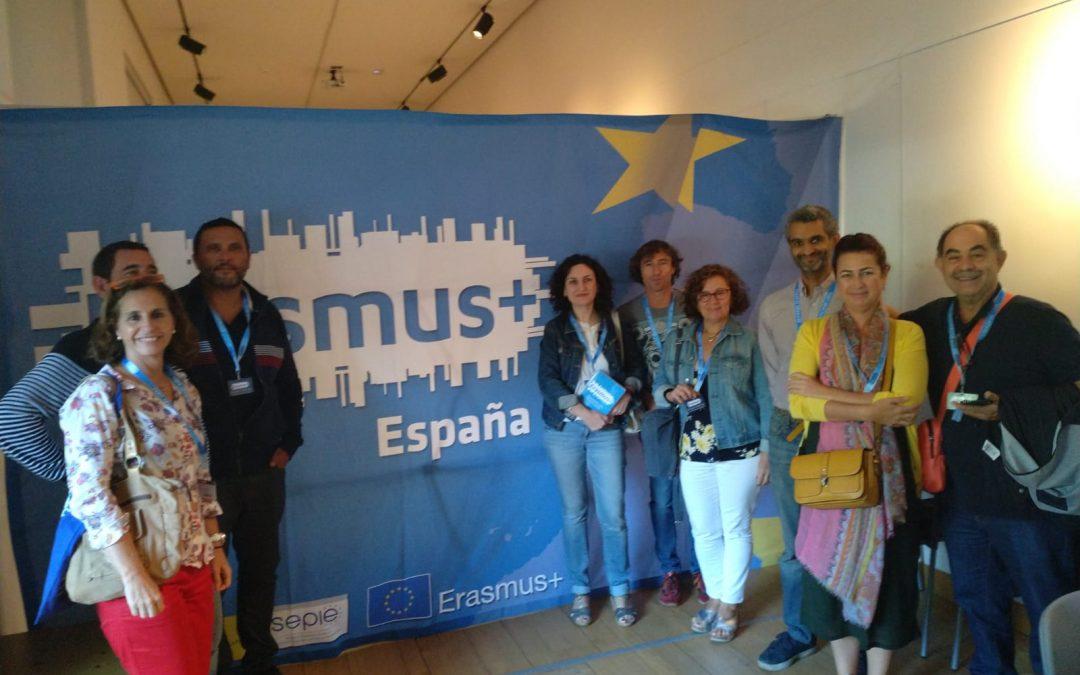 Participación del IES El Palo en las jornadas informativas del SEPIE sobre Educación Superior