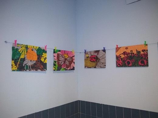 Inaugurado el Espacio de Creatividad con una exposición de Marcos Manzano