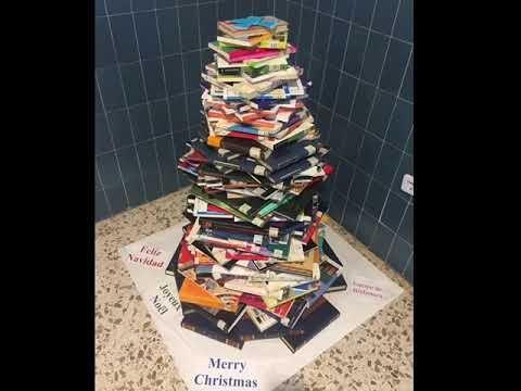 La biblioteca os desea feliz Navidad