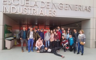 Visita a la Escuela de Ingenierías Industriales