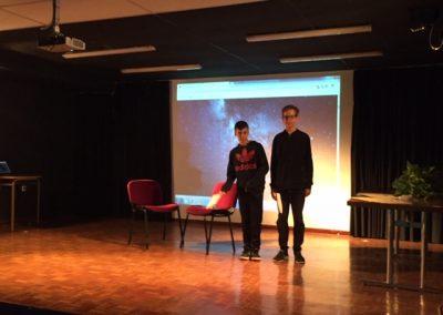 6. Actores que interpretan el texto ganador de 3º de ESO