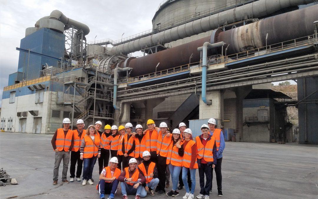 Visita Fábrica del Cemento