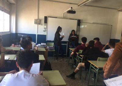 Recomendación de William Shakespeare por parte de Vanesa y Rosa de IES El Palo