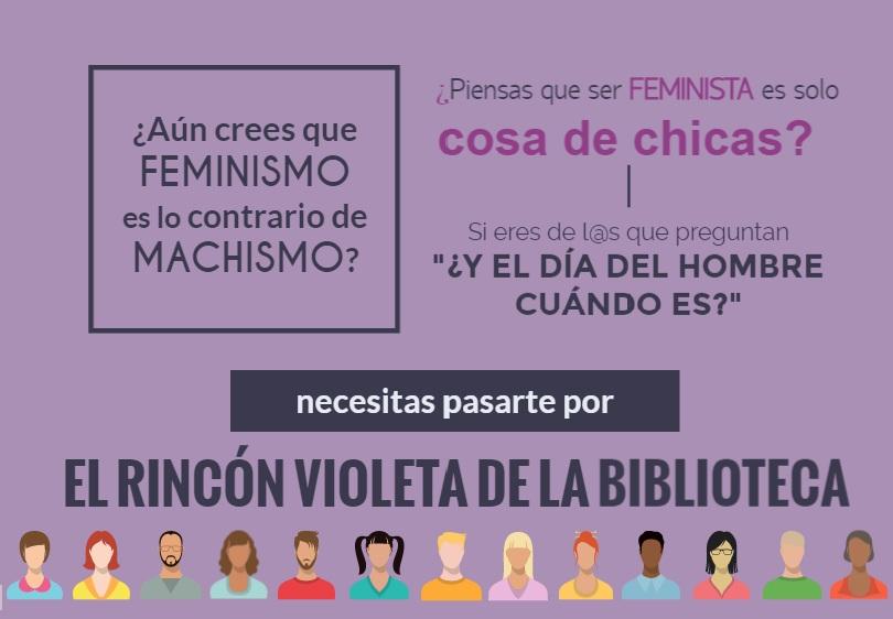 Inauguración «El Rincón Violeta de la Biblioteca»